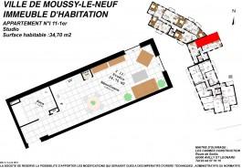 Moussy le Neuf Bat I n°11